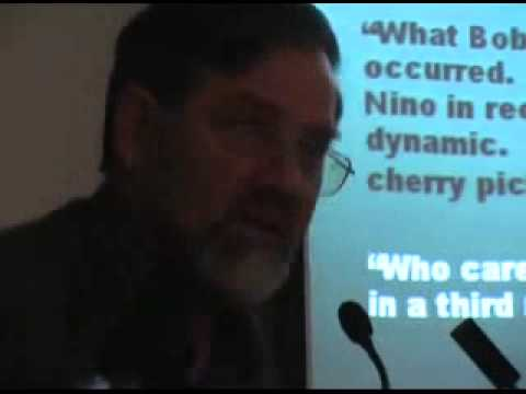 Professor Bob M Carter torpedoes the  scientific consensus  on the climate HOAX