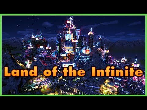 LAND OF THE INFINITE! Park Spotlight 108 #PlanetCoaster