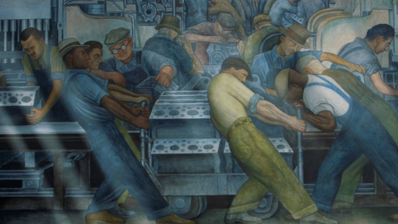 Detroit Industry By Diego Rivera Youtube