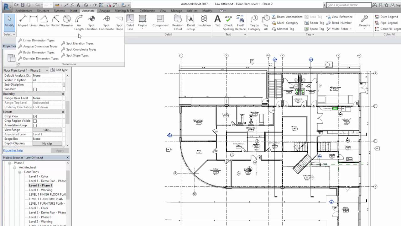 Autodesk Revit 2017 Ribbon And Quick Access Toolbar Youtube