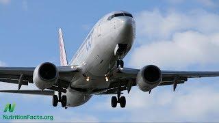 Vystavení se radiaci prostřednictvím letecké dopravy