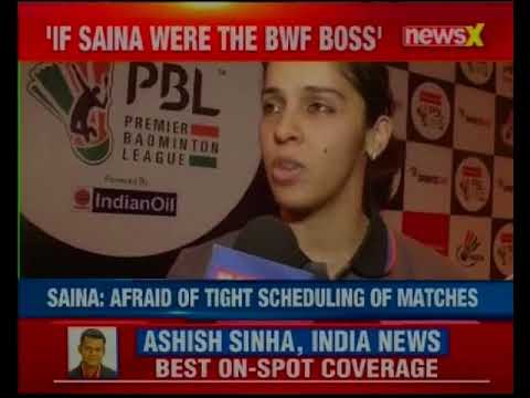 NewsX exclusive: Saina Nehwal slams Badminton Association of India