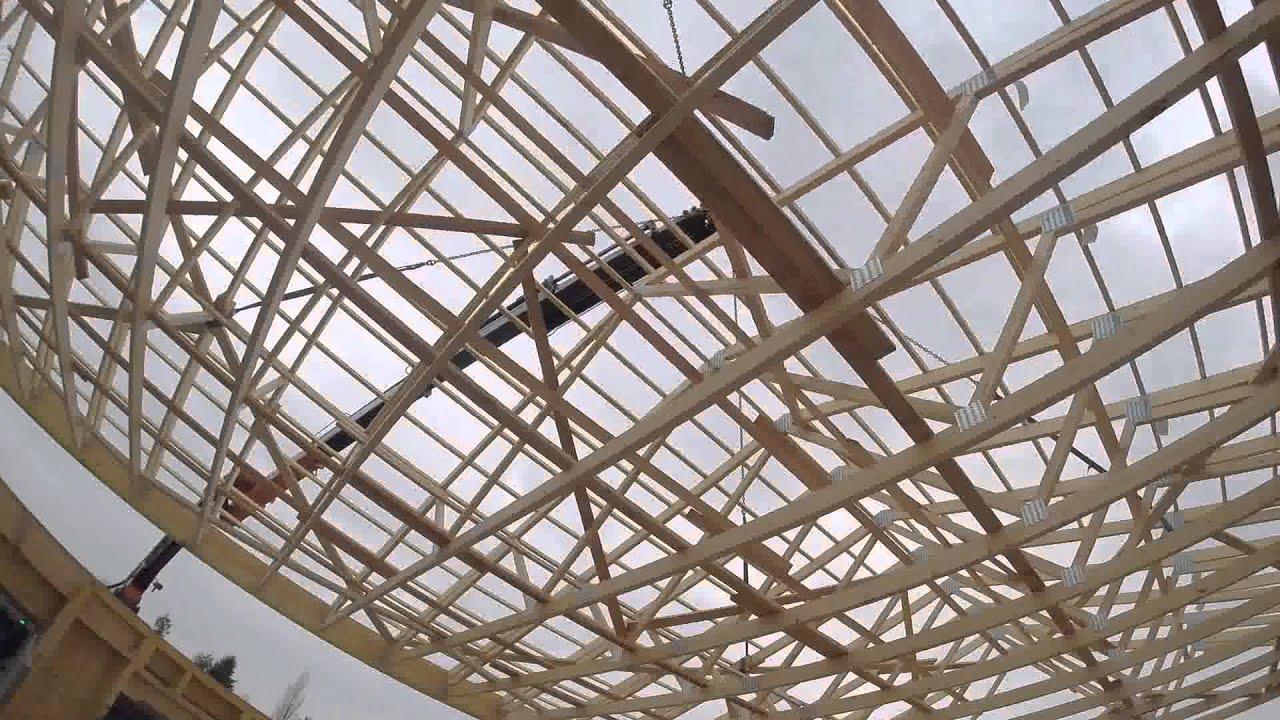 Montage maison en ossature bois  Delrieu Construction  ~ Montage Maison Ossature Bois