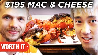 Video $3 Mac 'N' Cheese Vs. $195 Mac 'N' Cheese download MP3, 3GP, MP4, WEBM, AVI, FLV Februari 2018