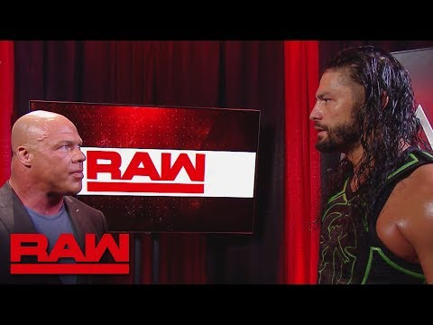 Roman Reigns will face Bobby Lashley at WWE Extreme Rules: Raw, July 2, 2018