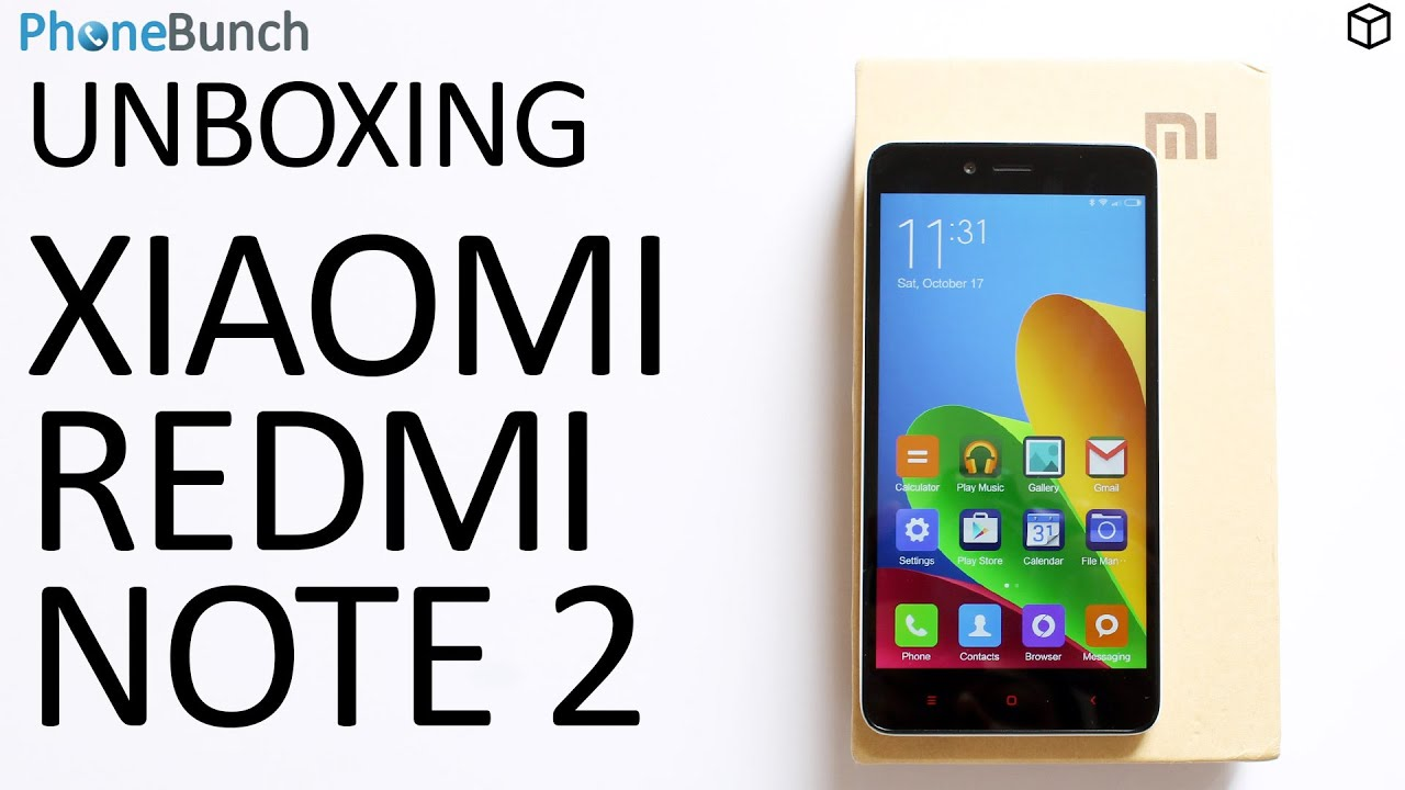 Xiaomi Redmi Note 2 Prime India Unboxing And Hands On Overview