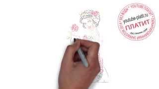 Белоснежка и семь гномов смотреть онлайн  Как начинающему рисовать белоснежку и семь гномов
