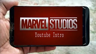 How to make like marvel studio intro on Android...
