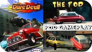 Top Gear Dare Devil (PS2 Gameplay) - Pod Racing HD