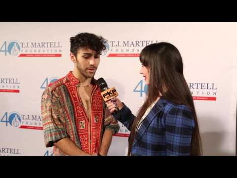 MAX interview w/PAVLINA Maxwell Schneider The T.J. Martell Foundation's 16th Annual NY Family Day