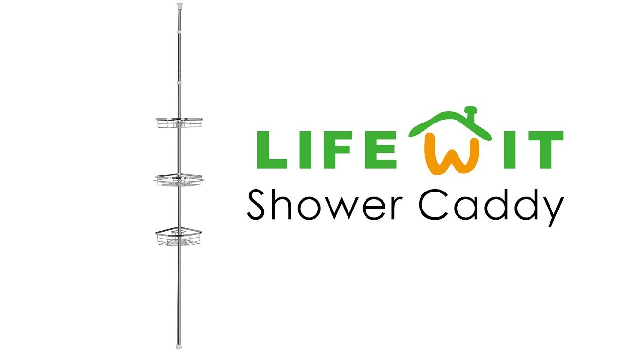 lifewit shower caddy youtube