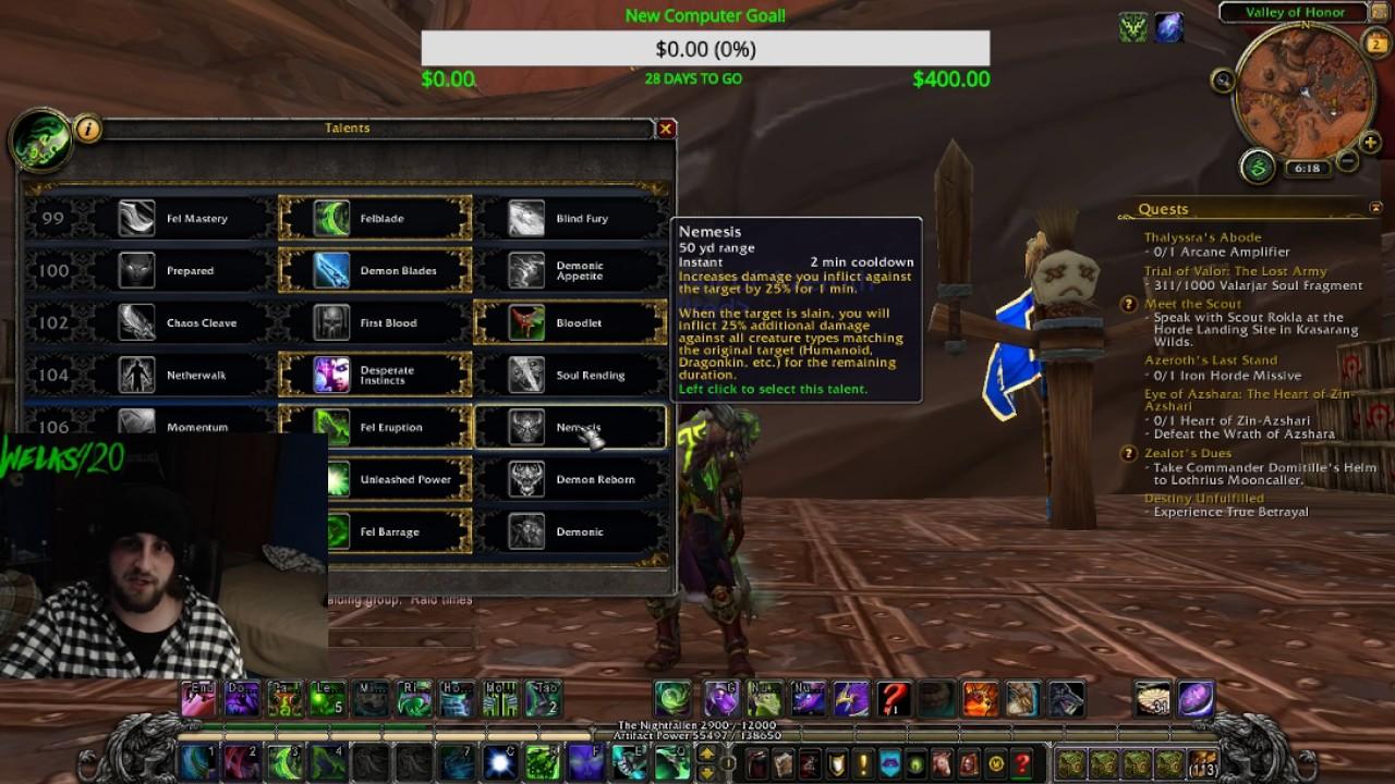 Demon hunter talents | WoWWiki | FANDOM powered by Wikia
