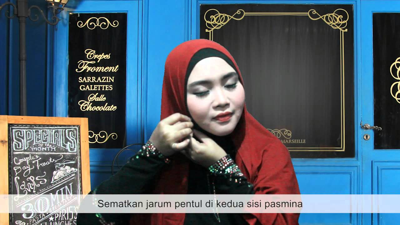 TUTORIAL HIJAB PASMINA FATIMAH By NOVI AYLA YouTube
