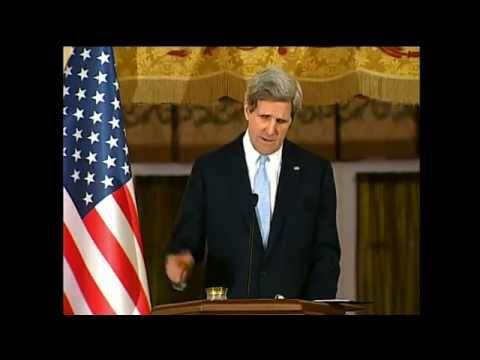 Secretary Kerry Delivers Remarks With Turkish Foreign Minister Davutoglu