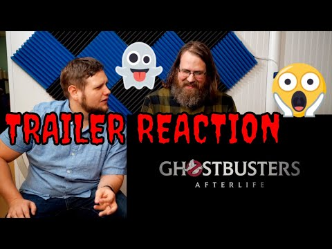Ghostbusters Afterlife Trailer Reaction!