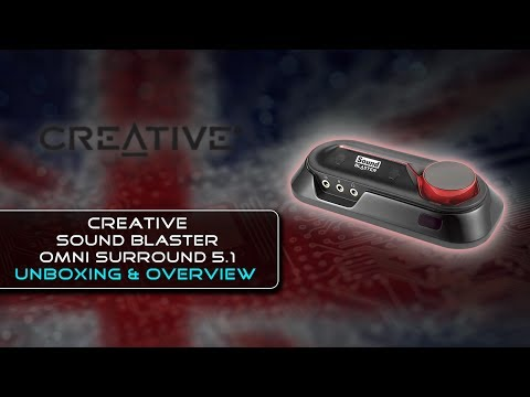Creative SoundBlaster Omni 5.1 Surround Sound {Unboxing & Overview}