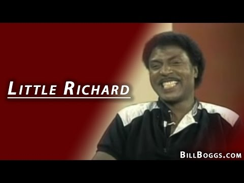 Little Richard Interview with Bill Boggs