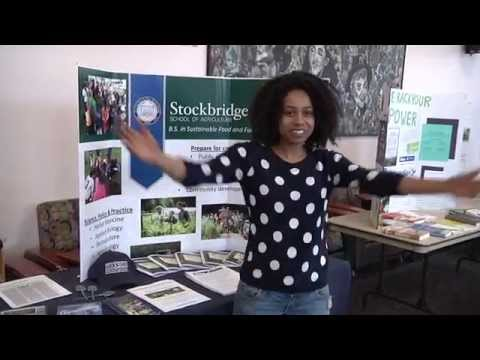 Sharee talks about why she loves her Sustainable Food and Farming major