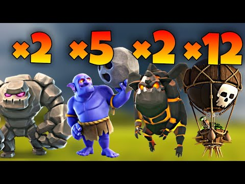 TH9 GoBoLaLoon (Golem + Bowler + Lava Hound + Balloon) War Attack Strategy | Part 4 | Clash of Clans