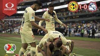 ¡Triunfo agónico! | América 1 - 0 Puebla | Clausura 2019 - J10 | Televisa Deportes
