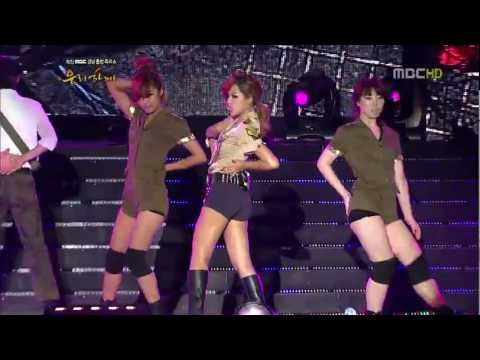 Brown Eyed Girls Sixth Sense + Hot Shot + Abracadabra [Special] Live