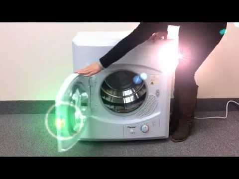 Panda Compact Dryer (Apartment Size) - YouTube
