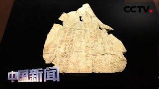 [中国新闻] 习近平致信祝贺甲骨文发现和研究120周年强调 坚定文化自信 促进文明交流互鉴 | CCTV中文国际