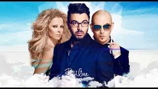 AHMED CHAWKI FEAT. PITBULL & FANI DRAKOPOULOU - Habibi I Love You (GREEK VERSION) Lyric Video