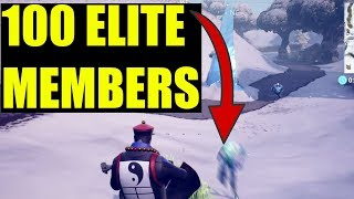 "How to ""Destroy Elite members of the ice legion"" - Fortnite (ICE STORM CHALLENGES) Day 4"
