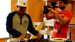 "DJ QBert Freestyle Scratch & Beat Juggling ""V1 Festival"" St.Petersburg/Russia"