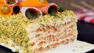 Торт с фаршем - Рецепты от Со Вкусом