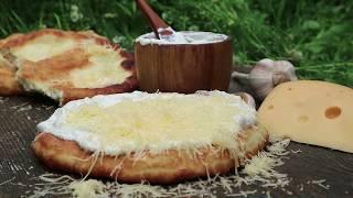 Вы никогда не ели такой Лангош! | Горячая венгерская лепешка Лангош | Hungarian Langosh | Lángos