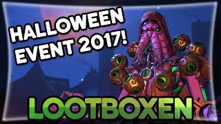 Halloween Event 2017! • Overwatch Lootboxen deutsch