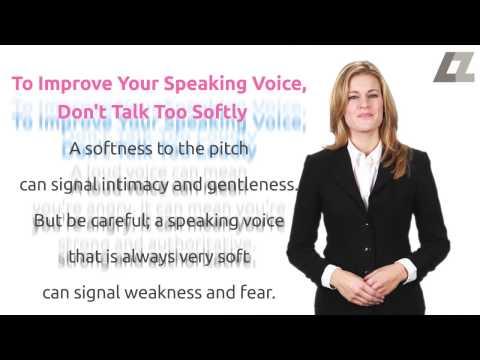 Speaking Tips: Is Your Speaking Voice Hurting Your Social Life?     Lauren Zapko