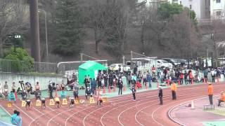 春季OP 男子100m35組 田栗・簗田