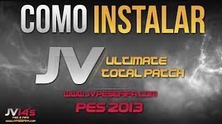 Como instalar o Patch JV Ultimate Total Patch 2014 PES 2013 - TUTORIAL 020