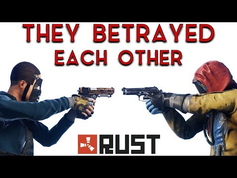 I Trap a Group of Friends and Make Them Kill Each Other - RUST