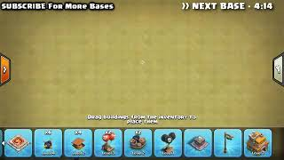 Top 3 best townhall 7 war base layout see it how to make ot