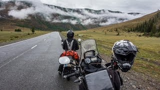 Motorcycle Trip to Mongolia, Part 17 - Back to Russia and great ride in beautiful Altai mountain
