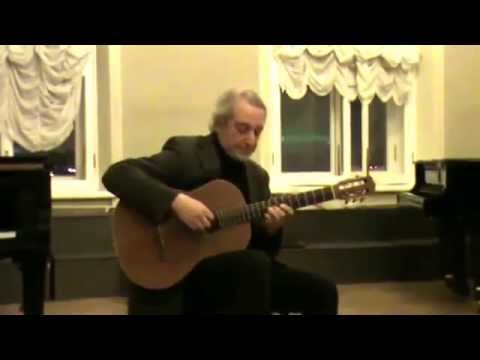 "ALEXANDER VINITSKY. SEMINAR ""CLASSICAL GUITAR IN JAZZ"""