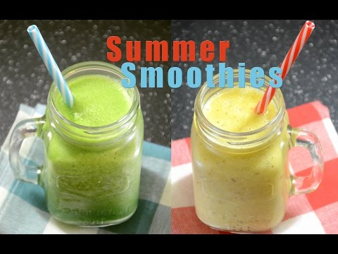 Summer Smoothies | Fruit And Vegetable Smoothie | Summer Drinks