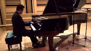 Bach Partita #4, Beethoven Sonata op.31 No.3, Chopin Scherzo No.2, Chopin Etude Op.25  No.7