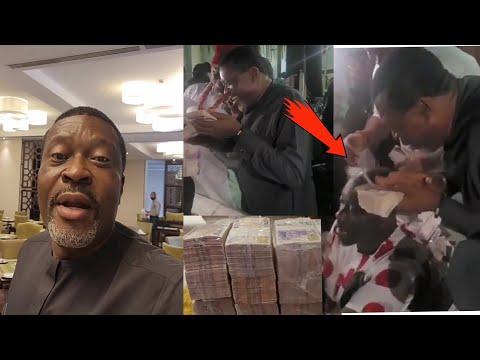 Download See what Obi Cubana did when Kanayo o kanayo the occultic man was spraying him money