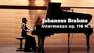 Brahms Intermezzo in A Minor (7 Fantasies Op. 116 N. 2) I Anna Khomichko