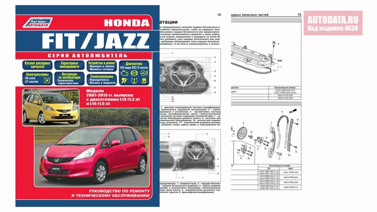 Инструкция хонда фит скачать