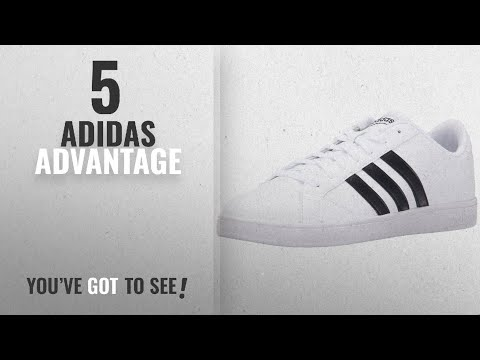 Top 5 Adidas Advantage [2018]: Adidas Neo Women's Baseline W Casual Sneaker,White/Black/White,8.5 M