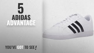 Top 5 Adidas Advantage [2018]: Adidas Neo Women's Baseline W Casual Sneaker,White/Black/White,8.5 M