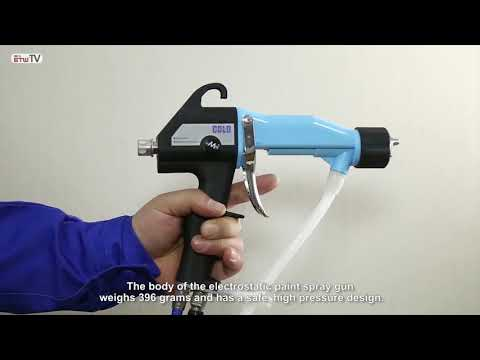 Electrostatic Spray Gun For Different Shape Part