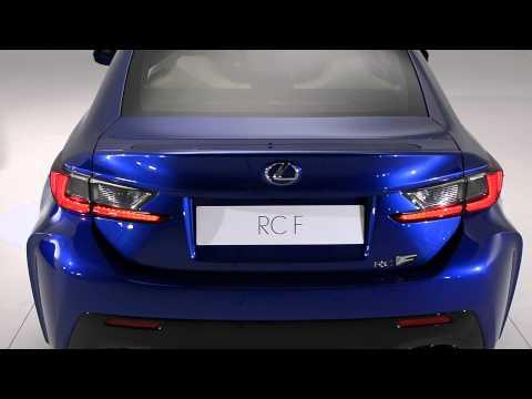 Lexus RC F: In detail