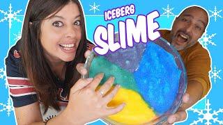 Hacemos el mejor SLIME ICEBERG!! Jordi y Bego Momentos Divertidos